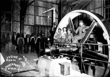 Northport, WA - Engine Room at LeRoi Smelter
