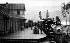 Northport, WA - Train Depot